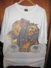 Bob Marley- Lic OOP- White T-Shirt- 6XLarge