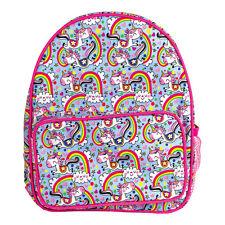 Unicorn & Rainbow Children's Rucksack – Rachel Ellen Backpack Bag Schoolbag