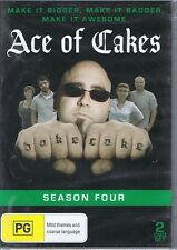 ACE OF CAKES - Season Four 4 NEW/SEALED DVD - Make It Bigger & Badder FREE POST