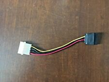 Male 4 Pin IDE to Male 15 Pin Serial ATA SATA with Power Adapter Cable Cord