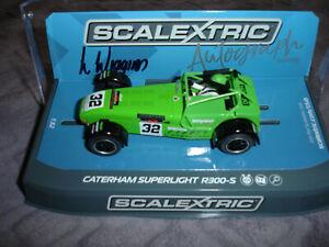 Scalextric Caterham Superlight R300-S Autograph Edition