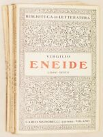 VIRGILIO ENEIDE CARLO SIGNORELLI BIBLIOTECA DI LETTERATURA COMPLETO ANNI '40