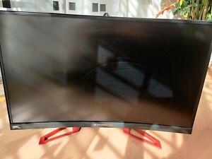 Acer Predator Z271 69 cm (27 Zoll) Curved Monitor, 144 Hz, G-Sync, 1080p