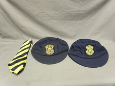 Vintage 1960's Welsh Boys School Uniform Caps & Tie Pontardawe Technical School