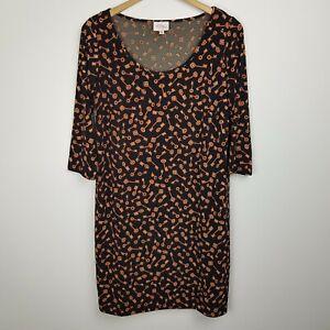 Leona Edmiston Ruby Dress Size 2 (AU 12) Key Print