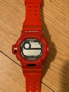Casio G-SHOCK RISEMAN G-9200 new old stock - Rare Red color