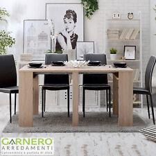 Tavolo consolle allungabile SOLARIA Gihome® 3 metri legno estensibile pranzo