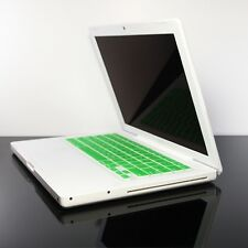 GREEN  Silicone Keyboard Skin Cover for OLD Macbook 13