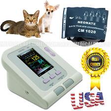 Vet Veterinary OLED digital Blood Pressure & Heart Beat Monitor NIBP US Seller