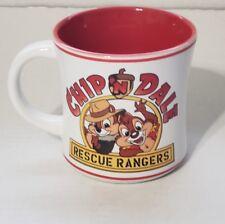 Disney Parks Chip n Dale Rescue Rangers Mug Cup Disney Afternoon RR