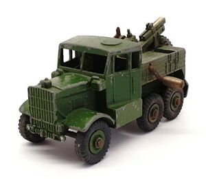 Dinky Toys Appx 10cm Long 661 - Army Recovery Tractor Truck - Green