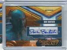 DAVE BAUTISTA DRAX DB Autograph Card  Upper Deck Marvel Guardians of the Galaxy