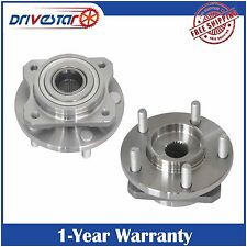 Pair of 2 FRONT Wheel Hubs & Bearings for Dodge Chrysler Caravan Town & Country