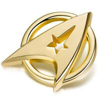 US SELLER Star Trek Alloy Plated Starfleet Communicator Badge Brooch Pin Gift