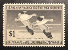 Tdstamps: Us Federal Duck Stamps Scott#Rw14 Mint Nh Og Gum Lightly Crease