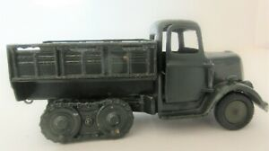 BRITAINS LTD Army Round Fronted Covered Army Tender with Caterpillar Tracks