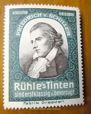 Cinderella/Poster Stamp Germany 1900s Rühle's Tinten - Schiller - 266
