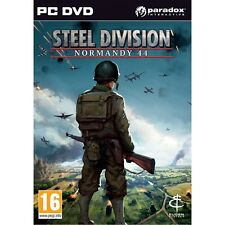 Steel Division Normandie 44 PC Game-NEUF!