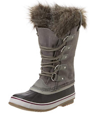 Sorel Women's Joan Of Arctic Boot,Quarry / Black,8.5 B(M) US, Brand New!