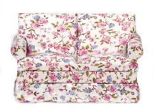 Traditional Love Seat Sofa, Dolls House Miniatures, Seating Doll House Furniture