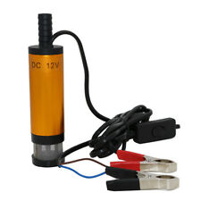 12V DC Diesel Fuel Water Oil Car Camping Fishing Submersible Transfer Pump New