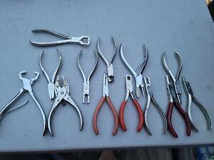 Vigor Optometry Optical Pliers Tools Lot