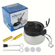 Airbrush Reinigung Set Cleaning Pot Zubehör Nadeln Bürsten Reinigungstopf DHL