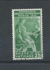 CONGRESSO DEL VATICANO - 1935 - 25 CENTESIMI VALORE-USATO BENE USATO