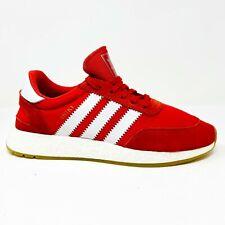 Adidas Iniki Runner Red White Gum BB2091 Mens Trainers Sneakers