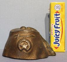 NEW PRICE CUT, BIG SALE* 1920/30s CAST IRON FEZ, HAT ORIG, GUARANTEED OLD BK333