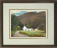 Douglas Ferguson Elliot (1915-2006) Canadian Listed Acrylic Scottish Landscape