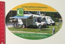 Aufkleber/Sticker: CampingPlatz Ecktannen Wohnmobilstellplatz - Waren (20041678)