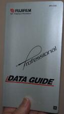 FUJIFILM Professional DATA GUIDE 2001