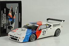 BMW M1 Motorsport A.Jones Procar Series 1979 + Sponsor CalcomaníA 1:18