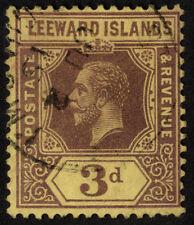 Used George V (1910-1936) Leeward Islands Stamps