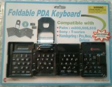 FOLDABLE PDA KEYBOARD - Palm, Sony, Handspring... Model KB-PDA - Sealed