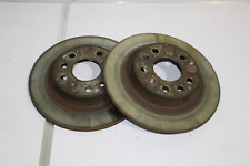 MK5 Astra VXR Rear brake discs PAIR