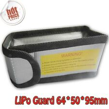 LiPo Battery Safe Guard Charging Protection Explosion-Proof Bag 64*50*95mm F