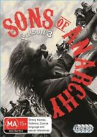 Sons Of Anarchy : Season 3 (DVD, 4-Disc Set) NEW