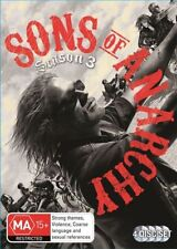 Sons Of Anarchy : Season 3 (DVD, 2012, 4-Disc Set)