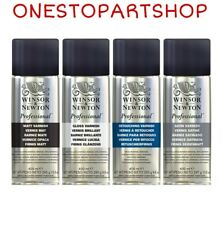 Winsor & Newton Professional Artists Spray Varnish And Fixative COMBINED POSTAGE