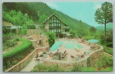 New listing Gatlinburg Tennessee~Chalet Motels & Swimming Pool~Vintage Postcard