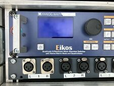 Analog Way EIKOS EKS500 Matrix Scaler & Flightcase & Patchfield