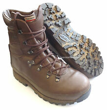 BRITISH ARMY - ALTBERG COMBAT DEFENDER BROWN BOOTS - SIZE 6 MED WOMEN'S - SN3019
