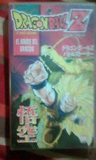 Película Dragon Ball Z El ataque del dragón VHS nº 16