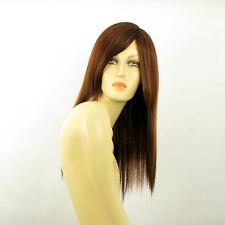 Perruque femme mi-long Châtain Cuivré Méché Blond Clair/rouge HELOISE 33H130
