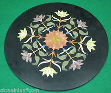 Table Top Pietra Dura Side Corner Coffee Floor Insert Decorative Marble Inlay