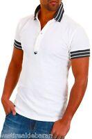 Polo Uomo Maglia ABSOLUT JOY B547 Regular Fit Bianco Tg  L