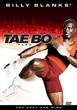 BILLY BLANKS - TAE BO FLEX DVD Workout Exercise Fitness