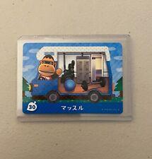 Louie #30 *Authentic* Animal Crossing Amiibo Card | NEW | JPN Version |